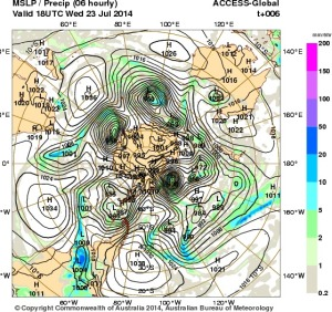 24 July 2014.IDY20001.mslp-precip.006