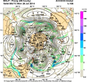 24 July 2014.IDY20001.mslp-precip.108