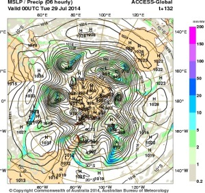 24 July 2014.IDY20001.mslp-precip.132