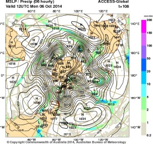 2 October 2014.IDY20001.mslp-precip.108