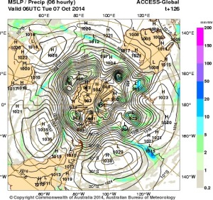 2 October 2014.IDY20001.mslp-precip.126