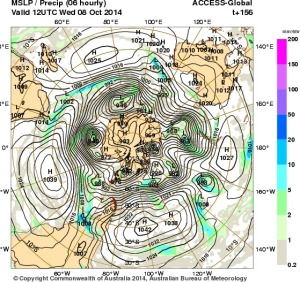 2 October 2014.IDY20001.mslp-precip.156
