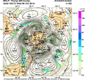 2 October 2014.IDY20001.mslp-precip.162