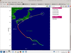 5 October 2014.TSR Phanfone 3
