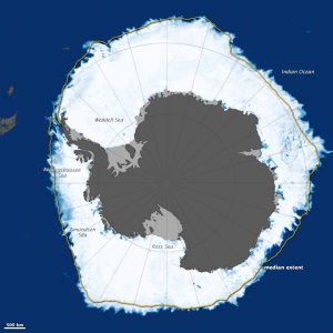 Antarctic sea ice Sept 2014